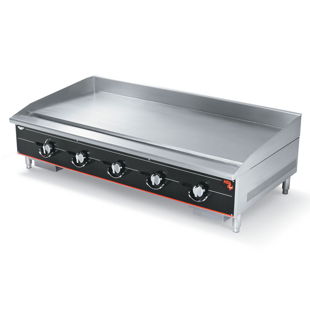 "Vollrath 960GGM 60"" Gas Griddle - Manual, 1""  Plate, NG"