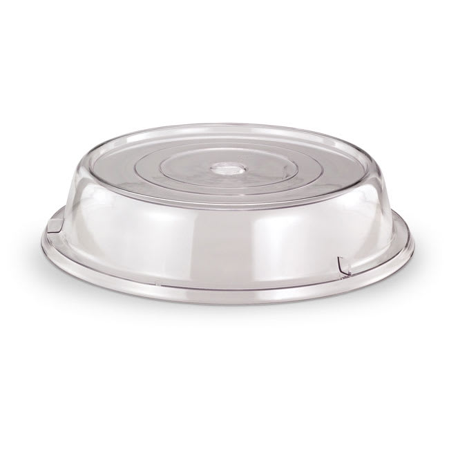 "Vollrath 978-13 Safe-Stack Plate Cover - Fits 9 5/8 9 7/8"" Clear Poly"