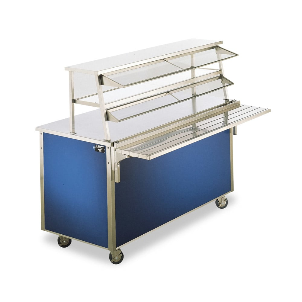 "Vollrath 9861707 88"" Double-Deck Cafeteria Breath Guard"