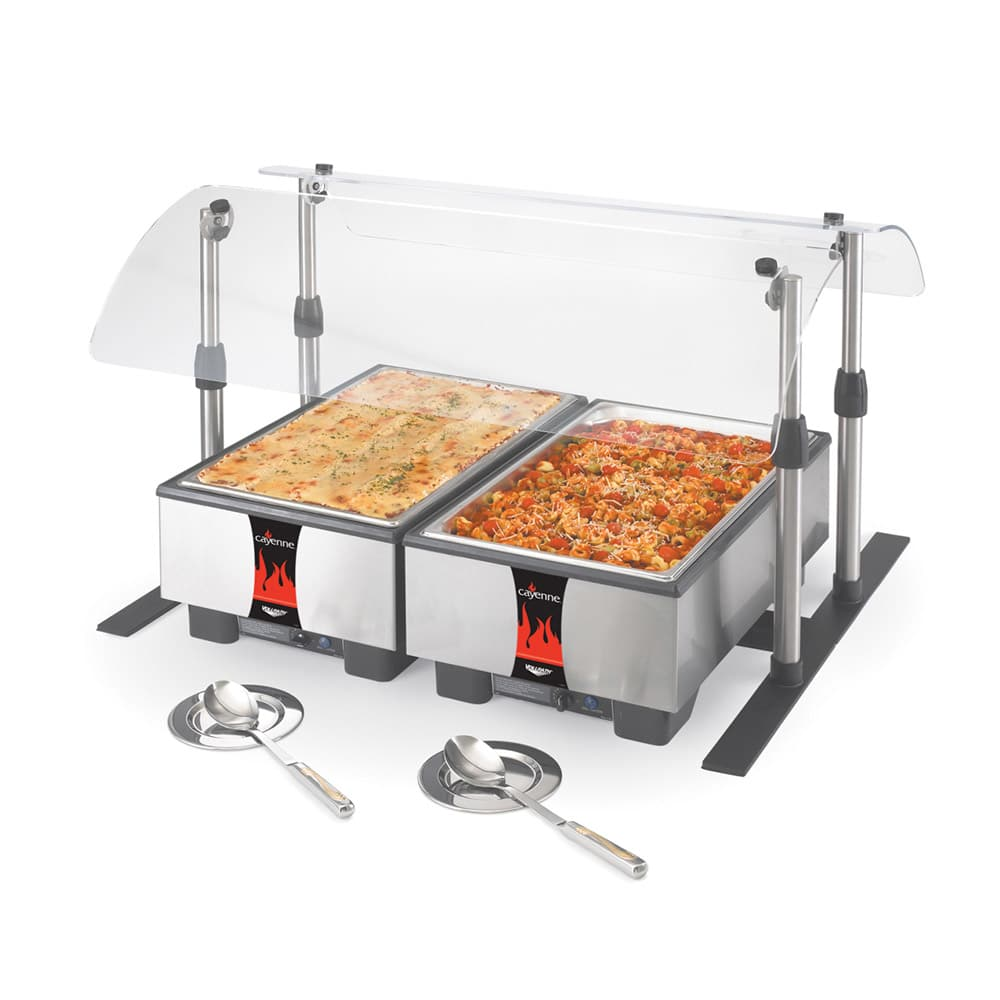 "Vollrath 9870560 Replacement 60"" Base Frame for Mobile Countertop Breath Guard"