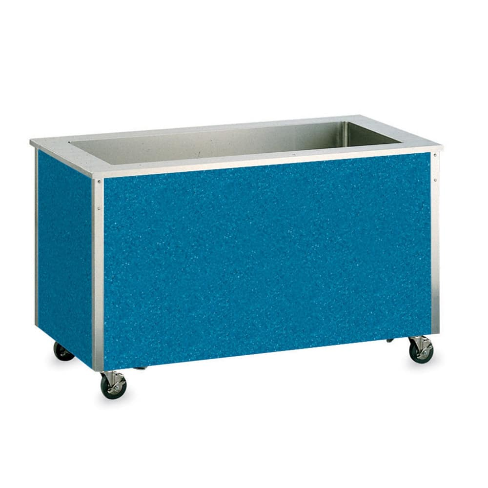 Vollrath 98708 6 Cold Well Refrigerated Food Station - Enclosed Base, 1/4 hp, Stainless 120v