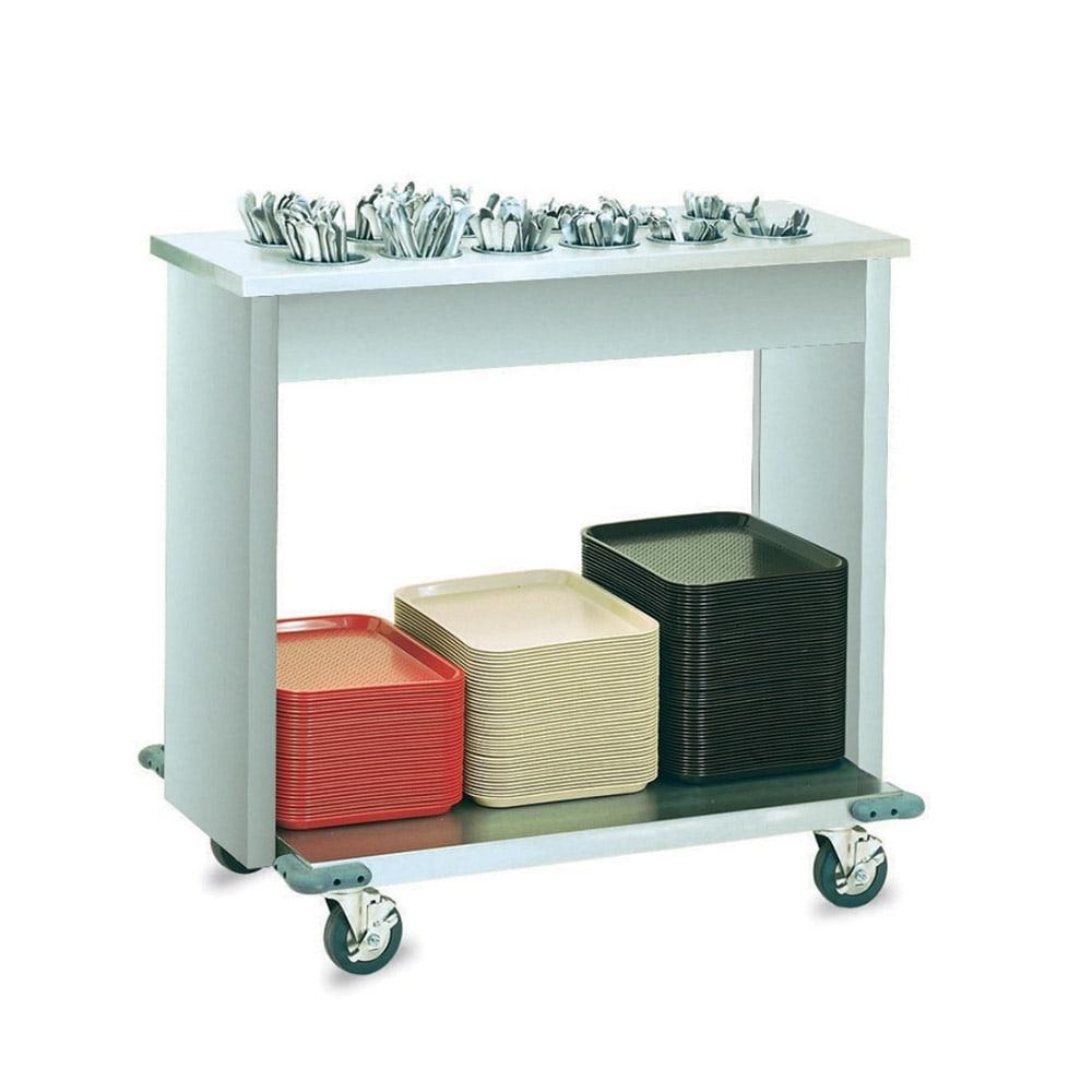 Vollrath 99305 Tray & Silver Cart w/ 12 Silverware Bins & 160 Tray Capacity