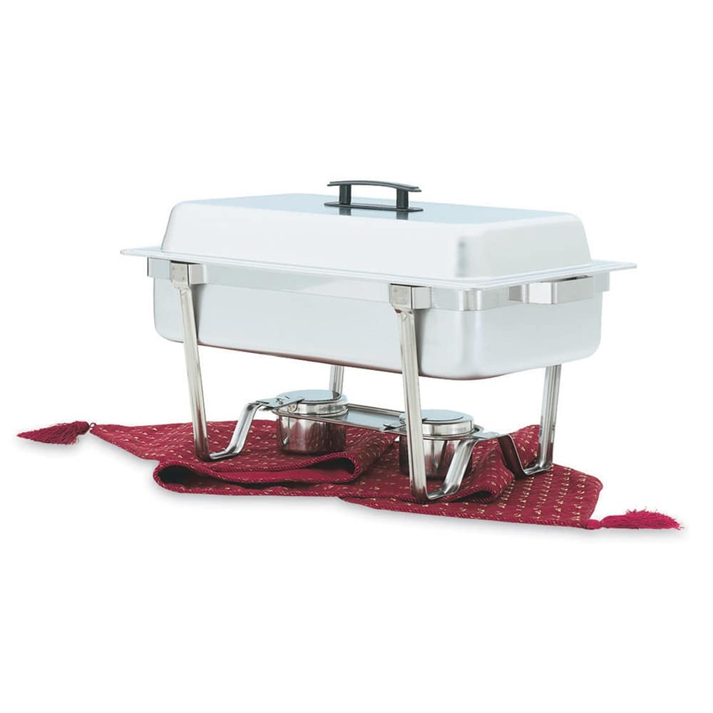 Vollrath 99850 Full Size Chafer w/ Lift-off Lid & Chafing Fuel Heat