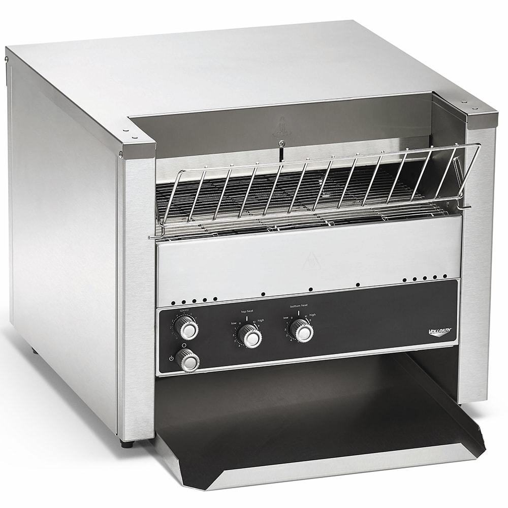 """Vollrath CT4H-208950 Conveyor Toaster - 950 Slices/hr w/ 1.5"""" to 3"""" Product Opening, 208v/1ph"""