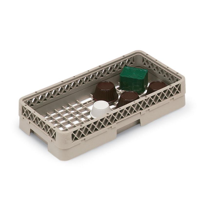 Vollrath HR-1AAA Dishwasher Open-Rack - Half-Size, (3)Extenders, Plastic, Beige