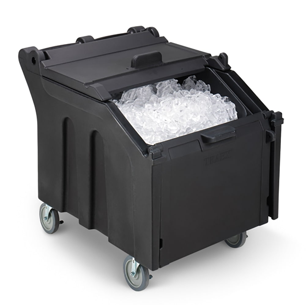 "Vollrath ICE140-06 140 lb Ice Caddy - Sliding, Slant Top, 30.31"" H"