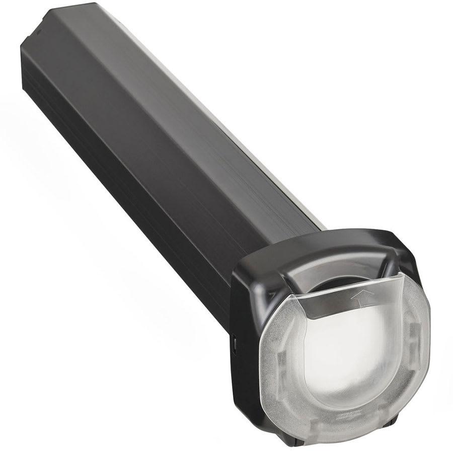"Vollrath LS02PBAM 23"" In-Counter Lid Dispenser - For 4.16"" to 4.75"" Lids, Black"