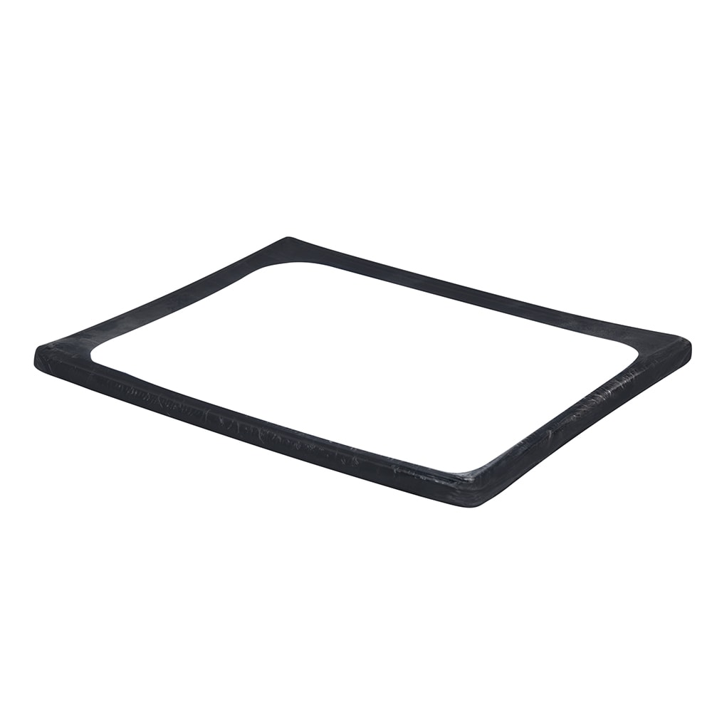 Vollrath N-0002B Half Size Silicone Band for Steam Table Pan, High-Temp, Black