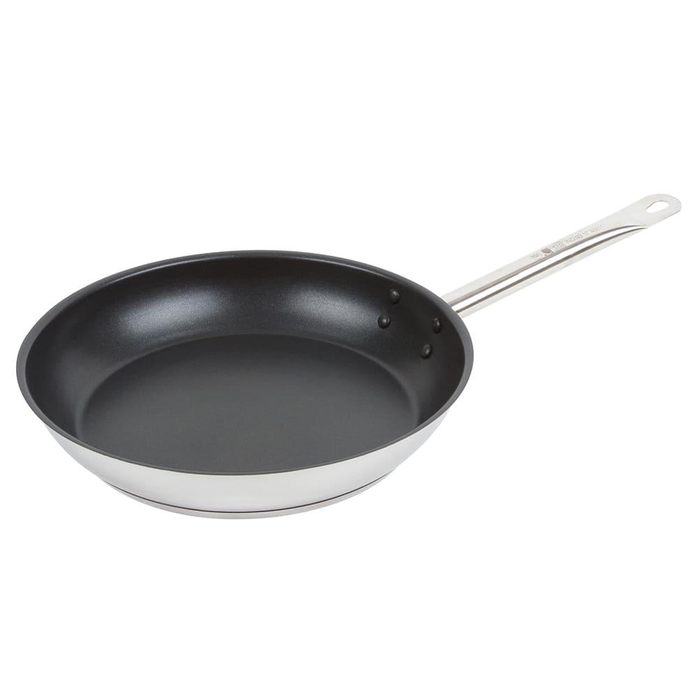 """Vollrath N3811 11"""" Non-Stick Steel Frying Pan w/ Hollow Metal Handle"""