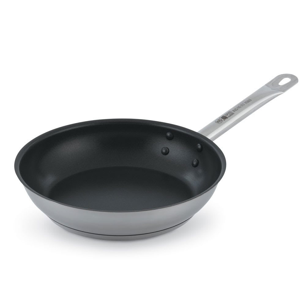 "Vollrath N3817 7"" Non-Stick Steel Frying Pan w/ Hollow Metal Handle"