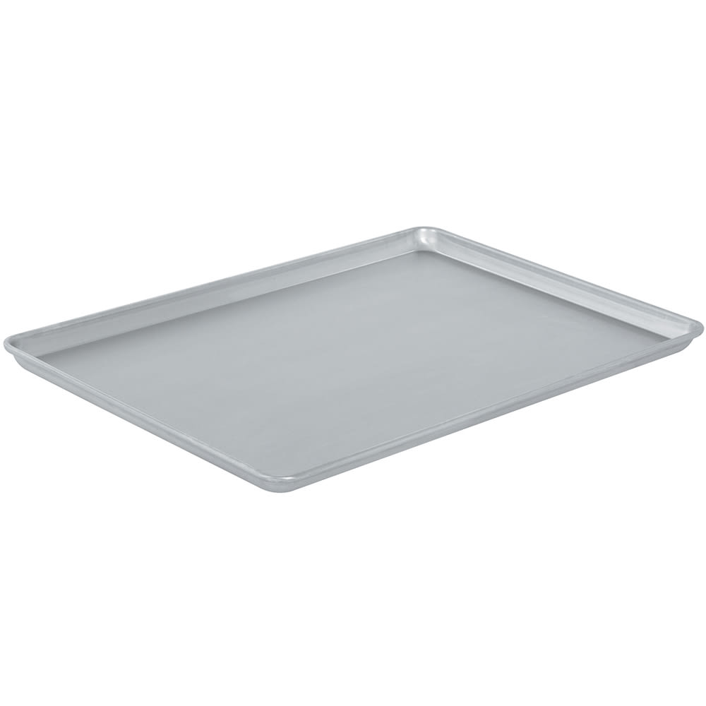 "Vollrath N5300 1/1 Size Bun / Sheet Pan - 26"" x 18"" x 1"", 14 gauge Aluminum, Natural Finish"
