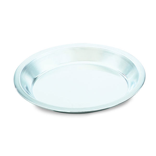 "Vollrath N5834 9"" Pie Pan - Natural-Finish Aluminum"