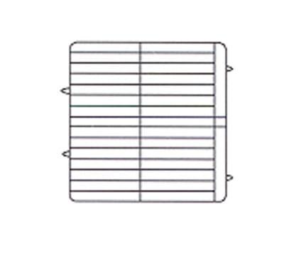 Vollrath PM3208-3 Dishwasher Rack - 32-Plate Capacity, 3-Extenders, Beige