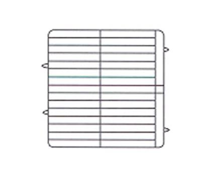 Vollrath PM3208-4 Dishwasher Rack - 32 Plate Capacity, 4 Extenders, Beige