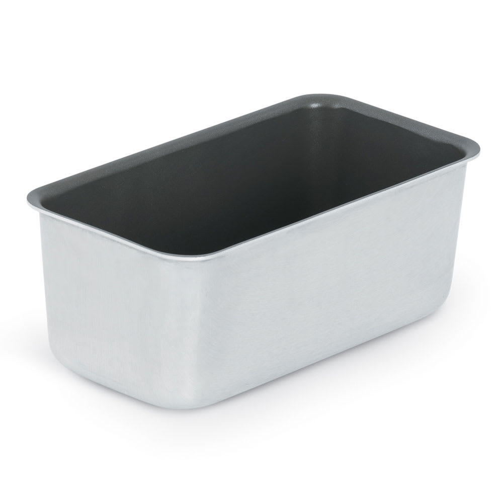 "Vollrath S5433 3-lb Loaf Pan - 4-1/4x8-1/2x3-1/8"" SilverStone-Coated Aluminum"