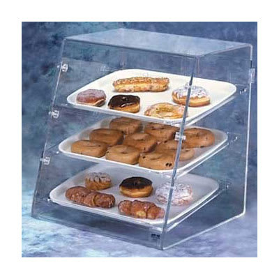 Vollrath SBC Angled-Front Pastry Display Case - Front/Rear Doors