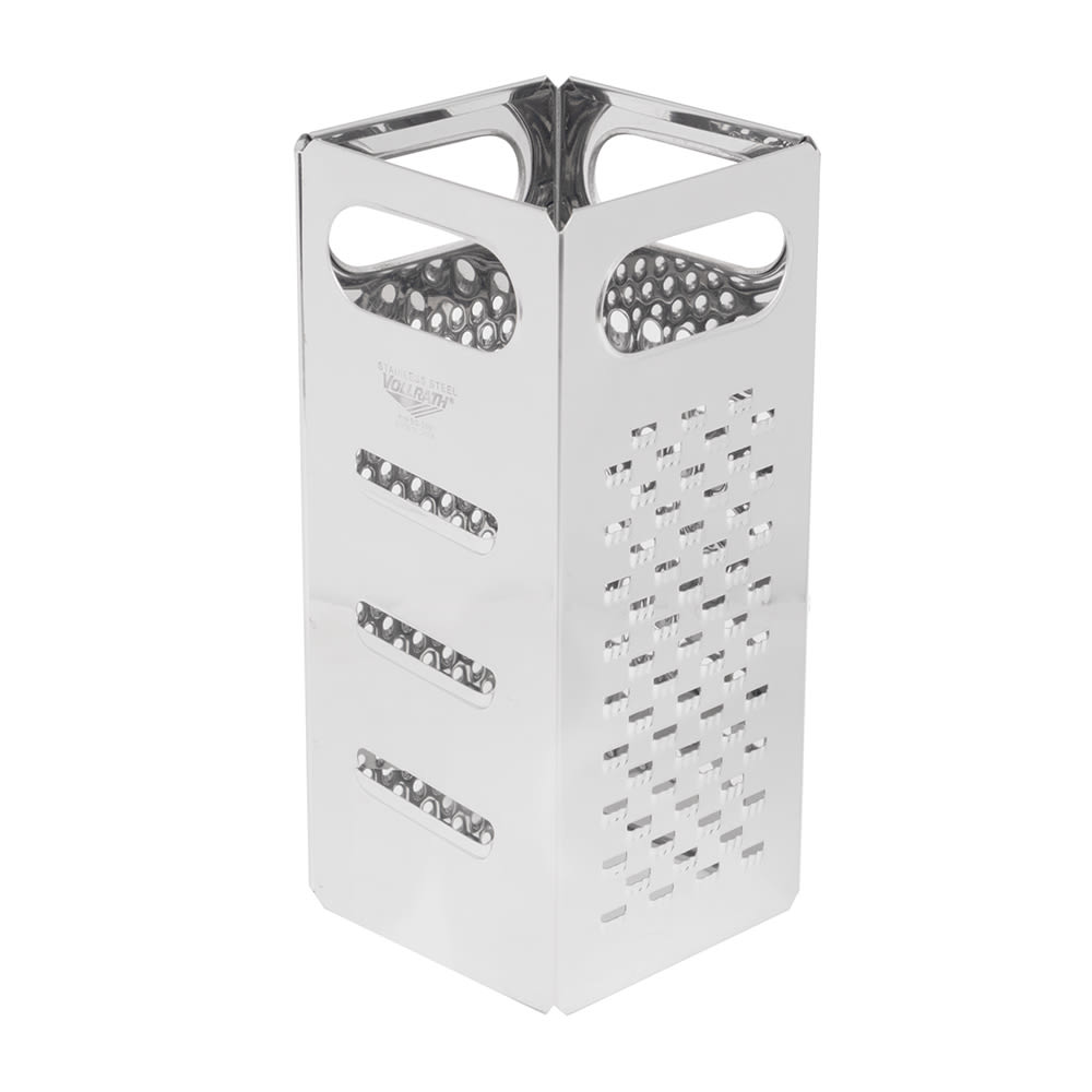 "Vollrath SG-200 4 Sided Grater - 4x9"" Hand Grips, Stainless"