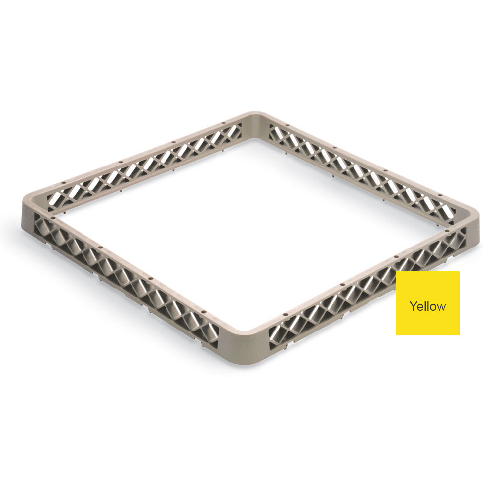 Vollrath TRA Full-Size Dishwasher Rack Extender - Yellow