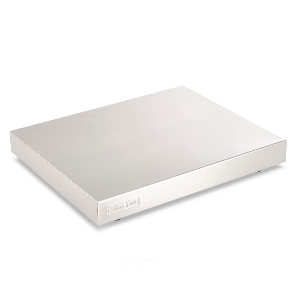"""Vollrath V903002 Half-Size Cooling Plate - 12.75"""" x 10.43"""", Stainless"""