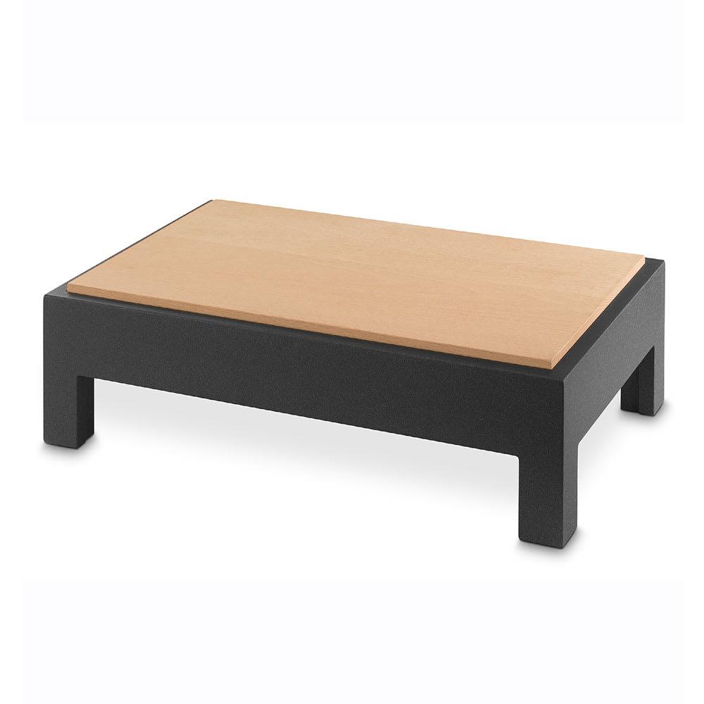 """Vollrath V904820 Cutting Board Table - 12.75"""" x 8.63"""" x 6.5"""", Wood, Black"""