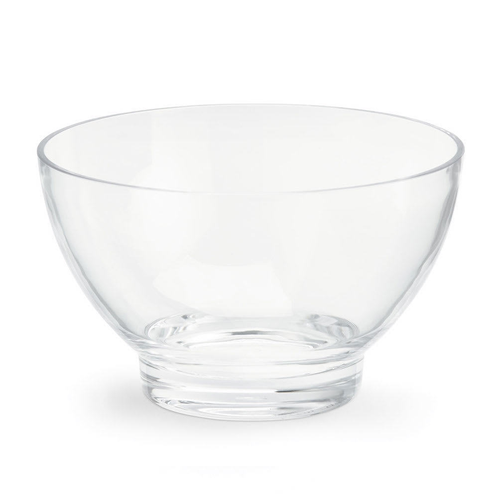 Vollrath V927000 4.23 qt Serving Bowl - Acrylic, Clear