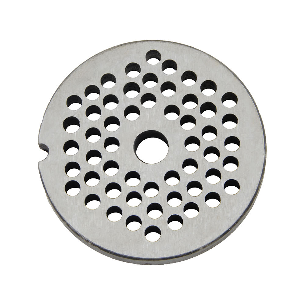 """Intedge 12H-3/16 Interchangeable Meat Chopper Plate, 3/16"""", For Hobart 12H & 22H"""
