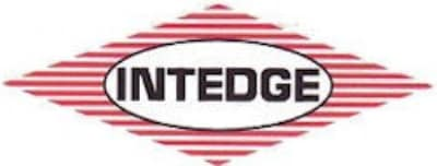 Intedge 136C10 Basket, Red, 10-in Oval