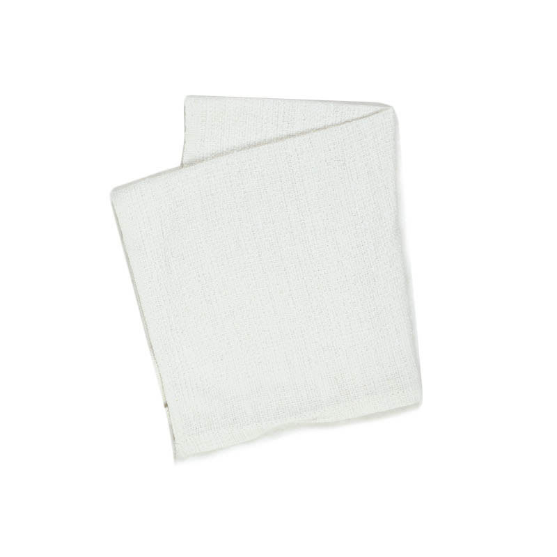 "Intedge 313SP-22 White Terry Cloth Bar Towel, 20"" x 17"""