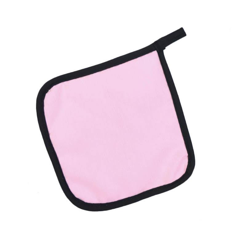 "Intedge 315 Poly Cotton Pot Holder, 8 x 8"", Light Pink"