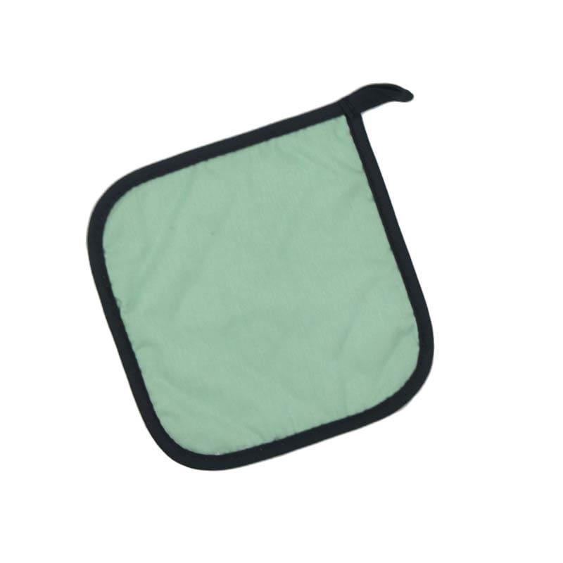 "Intedge 315 SF Poly Cotton Pot Holder, 8 x 8"", Seafoam Green"