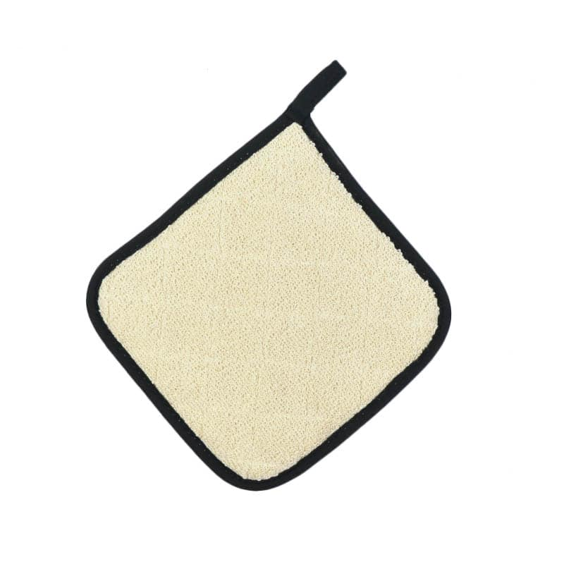 "Intedge 318T-8 Terry Pot Holder, 8 x 8"", Natural"