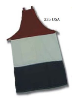 "Intedge 335USA Specialty Apron w/ Pencil Pad Pocket, 32 x 28"", American"