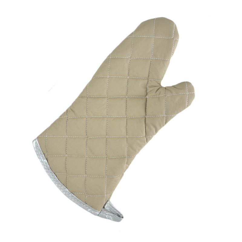 "Intedge 33615 Oven Mitts, 15"" Flame Retardant"