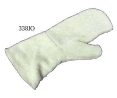 "Intedge 338JO 17"" Jomac Terry Oven Mitt"