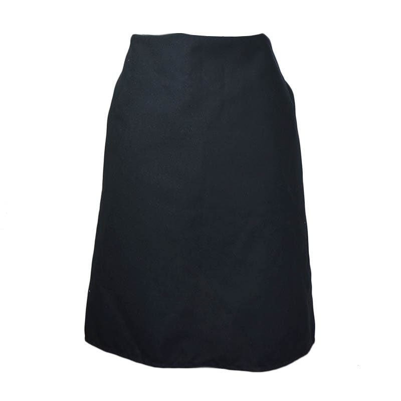 "Intedge 341 BLK 4 Way Waist Apron w/ Nylon Ties, 38 x 35"", Black"