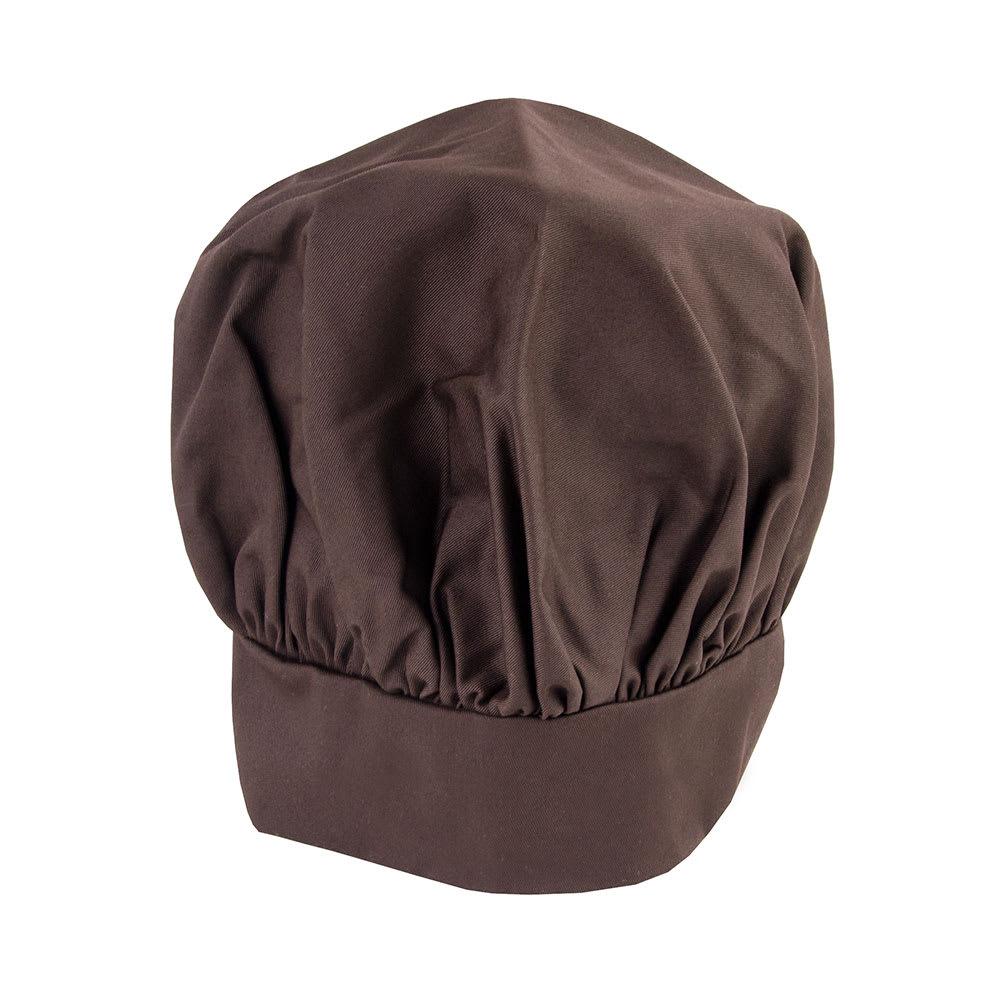 Intedge 346H LB Chef Hat w/ Poly Cotton Blend, One Size, Light Blue