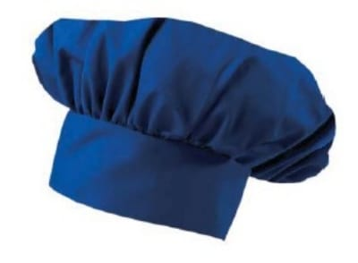 Intedge 346H-USA Chef Hat w/ Poly Cotton Blend, One Size, USA