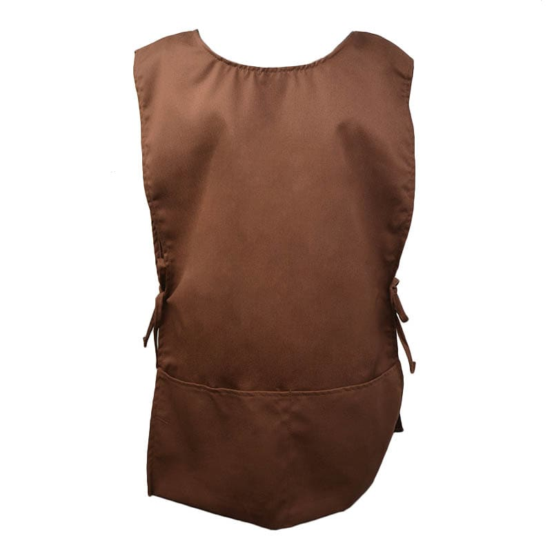 Intedge C335BR 2 Sided Smock, Brown