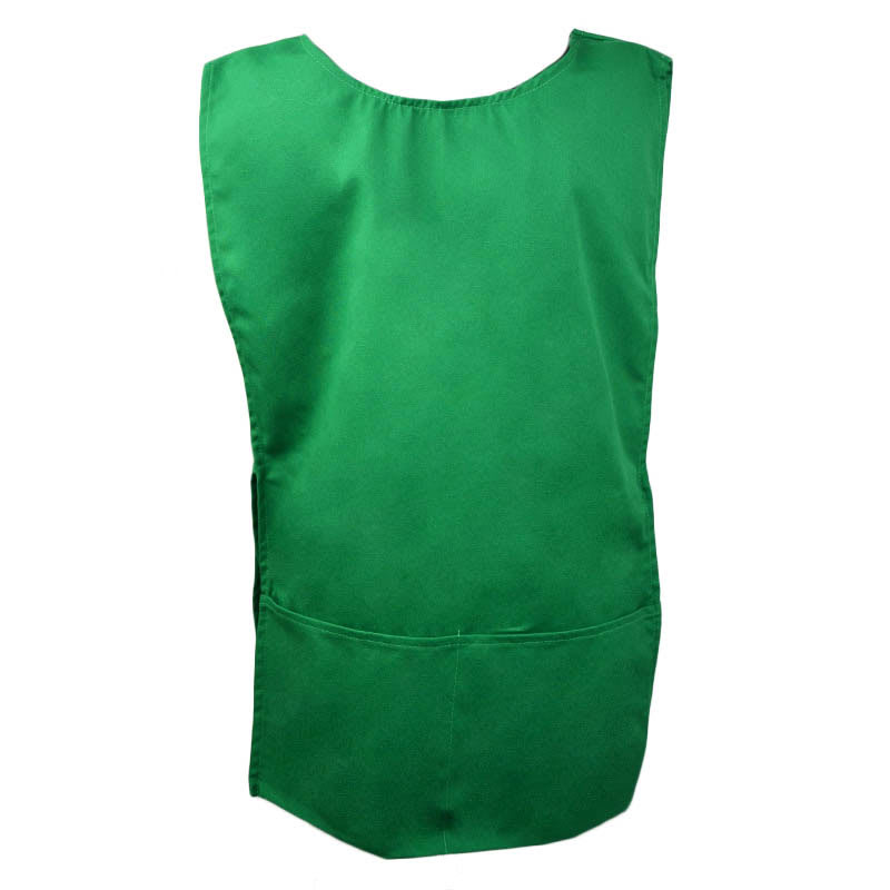 Intedge C335G Two-sided Cobbler Apron, 2 Front Pockets, Green