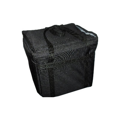 "Intedge CIFC-1 BLK Cadura Nylon Insulated Food Carrier, 22 x 12 x 12"", Black"