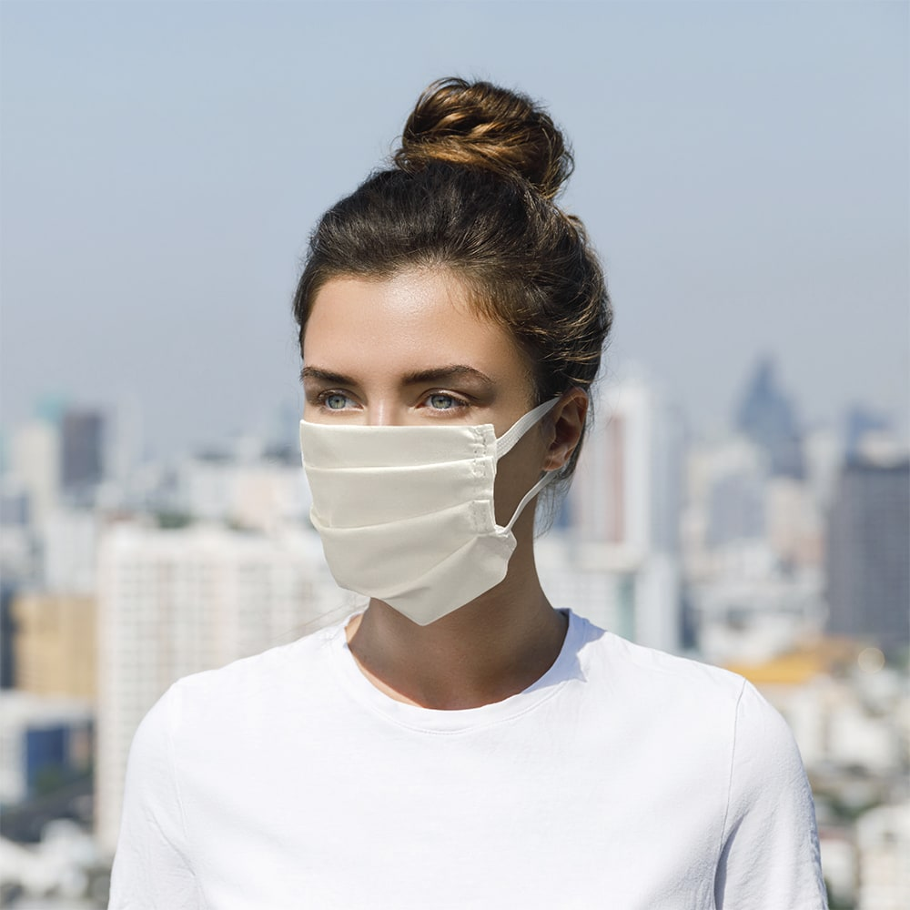 Intedge Inte12m W Reusable Face Mask W Elastic Band 65 35 Poly