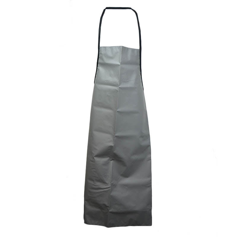 "Intedge VDWA BLK Nylon Dishwasher Bib Apron, 36 x 42"", Black"