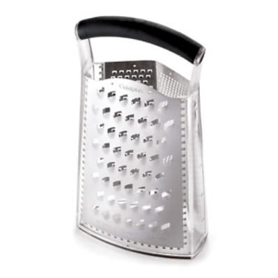 Cuisipro 74-684001 Accutec Three-Sided Box Grater, Stainless Steel