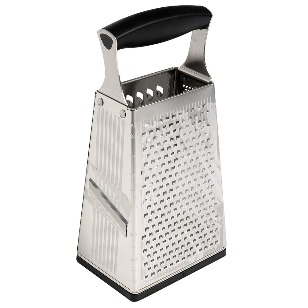 Cuisipro 74-6850 Box Grater, Stainless Steel