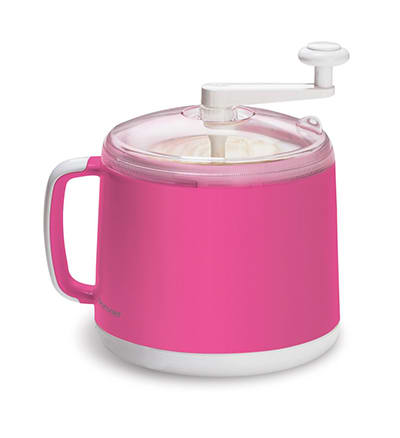 Cuisipro 837448 Donvier Ice Cream Maker, Pink