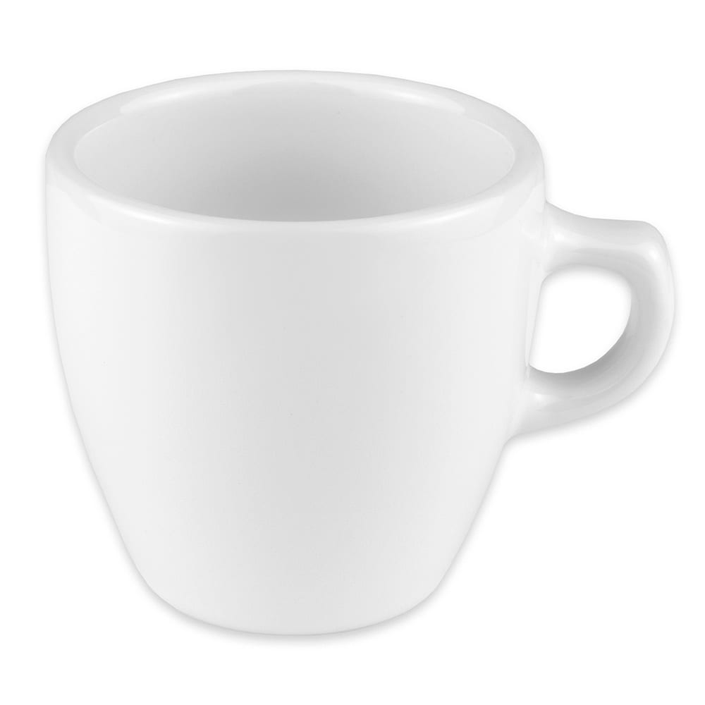 Homer Laughlin 105210000 10-oz Bistro Cup - China, Arctic White