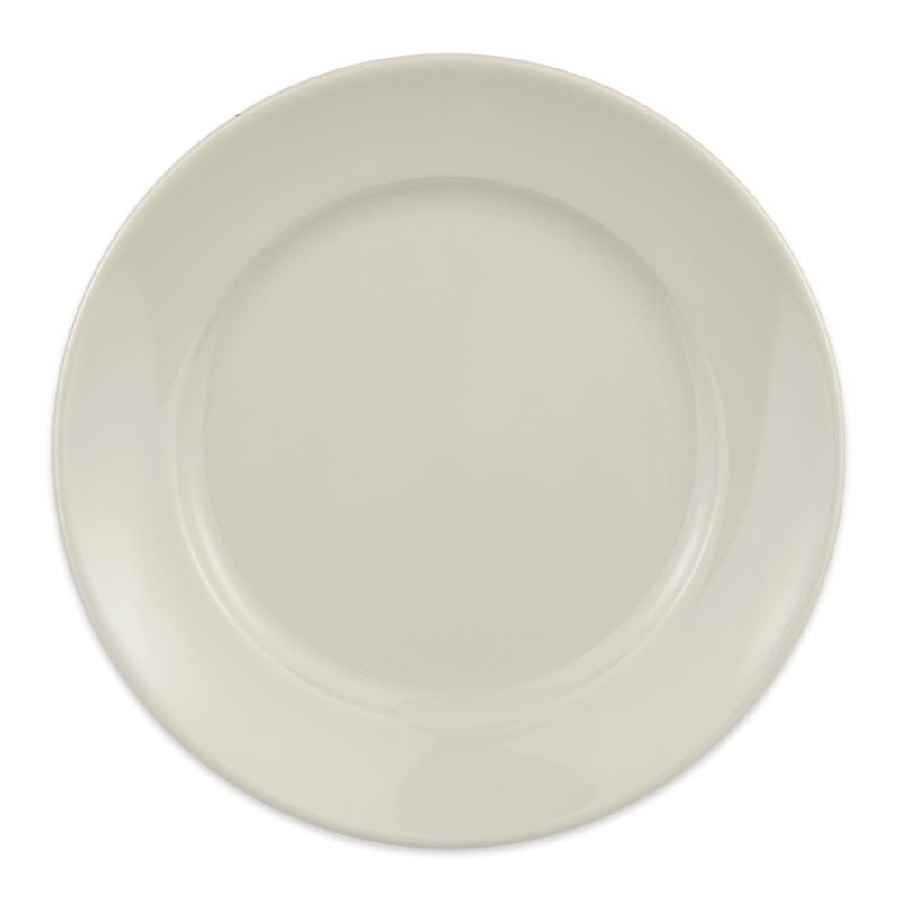 "Homer Laughlin 12062100 6.25"" Round RE-21 Plate - China, Ivory"