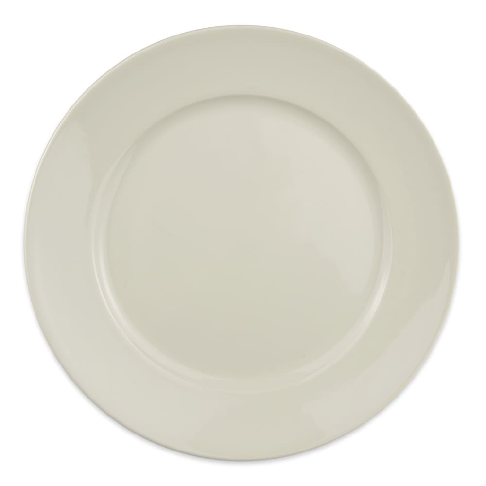 """Homer Laughlin 12082100 9"""" Round RE-21 Plate - China, Ivory"""