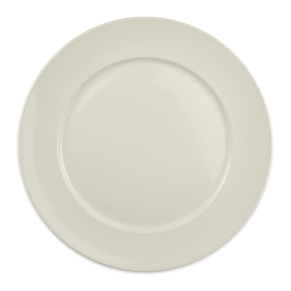"""Homer Laughlin 12132100 12.25"""" Round RE-21 Plate - China, Ivory"""