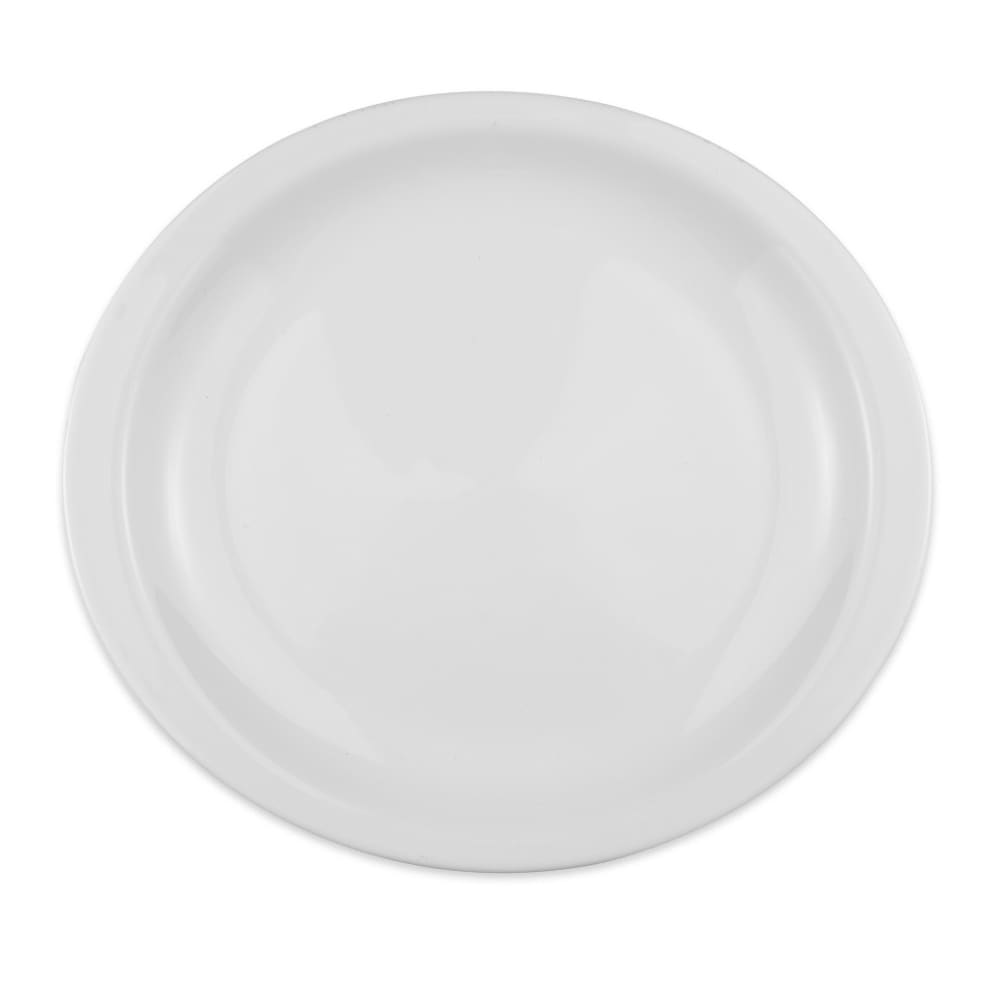 "Homer Laughlin 15810000 15.63"" Oval Platter - China, Arctic White"